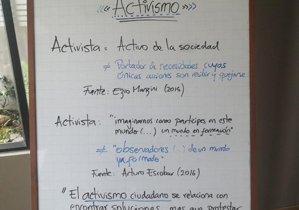 El activismo